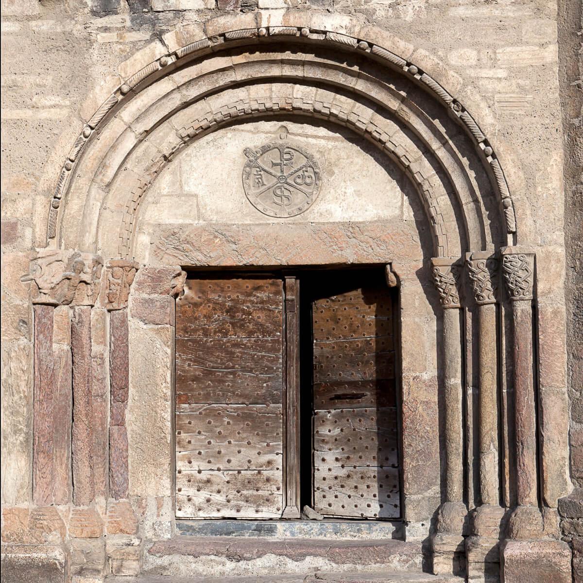 Portail chapelle Saint-Exupère - Arreau