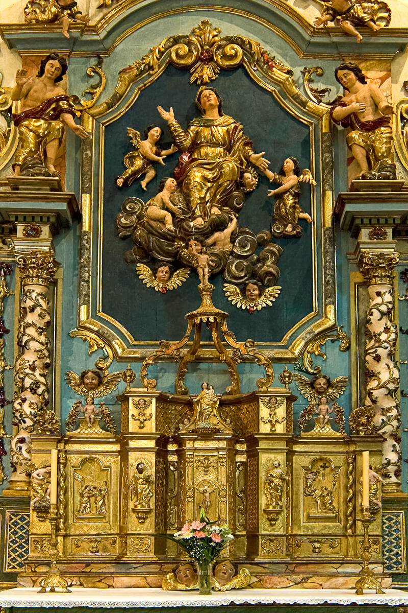 Retable - Eglise de Bordères-Louron